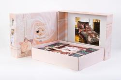 Постельное белье из сатина - премиум «Анабель» (в подарочной упаковке)