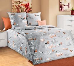 Купить постельное белье из бязи «Музыка леса» (1.5 спальное)