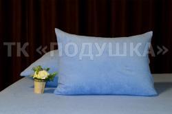 Купить синие махровые наволочки на молнии в Иркутске
