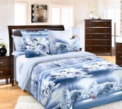 Купить постельное белье из бязи «Лебединое озеро» в Иркутске