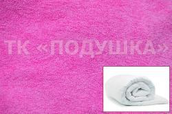 Купить розовый махровый пододеяльник  ТМ Подушка в Иркутске