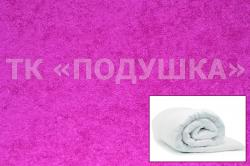 Купить фиолетовый махровый пододеяльник  {citys}
