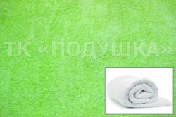 Купить салатовый махровый пододеяльник  в Иркутске
